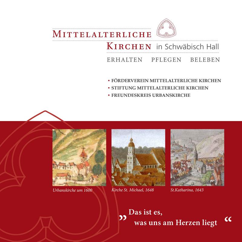 Mittelalterliche Kirchen Schwäbisch Hall | Broschüre zum Tag des offenen Denkmals 2017 | Seite 1
